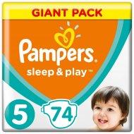 Подгузники «Pampers» Sleep & Play 11-16 кг, 5 размер, 74 шт.