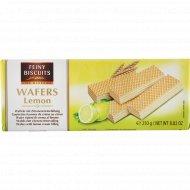 Вафли «Feine Biscuits» с лимонно-кремовой начинкой, 250 г