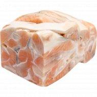 Брюшки лосося атлантического мороженые фасованные, 1 кг., фасовка 0.8-1.25 кг