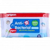 Салфетки влажные детские с антибактериальным эффектом 20 шт.