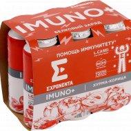 Продукт кисломолочный «Imuno+» хурма-корица, 6 шт х 100 г.