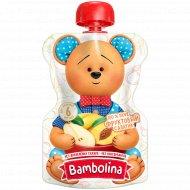 Пюре «Bambolina» банан-груша-персик «фруктовый салатик» 90 г