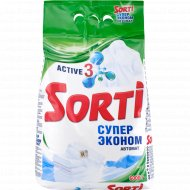 Порошок стиральный «Sorti» автомат, супер эконом, 6 кг.