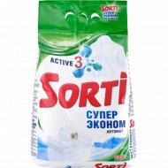 Порошок стиральный «Sorti» автомат, супер эконом 6 кг.