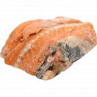 Хребты лосося мороженые, 1 кг., фасовка 0.74-1.23 кг