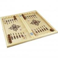 Нарды деревянные «Десятое королевство» в деревянной коробке.