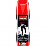 Крем-краска для нубука и замши «Show» черный, с губкой, 75 мл.