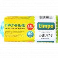 Пакеты для мусора «Limpo» 35 л, 50 шт.