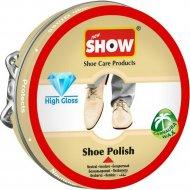 Классический крем для обуви «Show» бесцветный, в шайбе, 50 мл.
