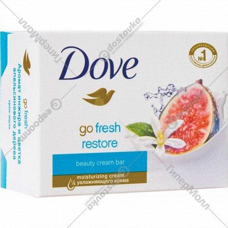 Крем-мыло «Dove» Инжир и Лепестки Апельсина, 100 г
