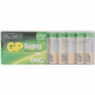 Батарейки щелочные пальчиковые «GP» 15A-2CRB10, 10 шт.