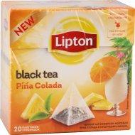 Чай черный «Lipton» пина колада, 20 пакетиков.