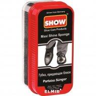Губка для обуви «Show» макси, черная