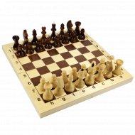 Шахматы деревянные «Десятое королевство» в деревянной коробке.
