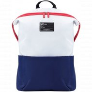 Рюкзак «Ninetygo» Lecturer Leisure Backpack (2082) White+Blue.