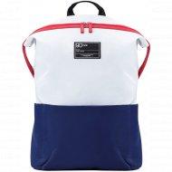 Рюкзак «Ninetygo» Lecturer Leisure Backpack (2082) White+Blue.