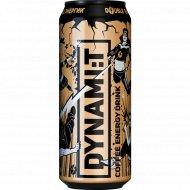 Напиток энергетический «Dynamit» Coffee Energy Drink, 0.45 л.