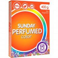 Стиральный порошок «Sunday» автомат для цветного парфюмированный, 400 г.