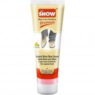 Крем для обуви «Show» бесцветный, с губкой, в тубе, 75 мл.