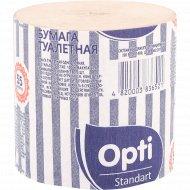 Бумага туалетная «Opti» 55 м, 1 рулон.