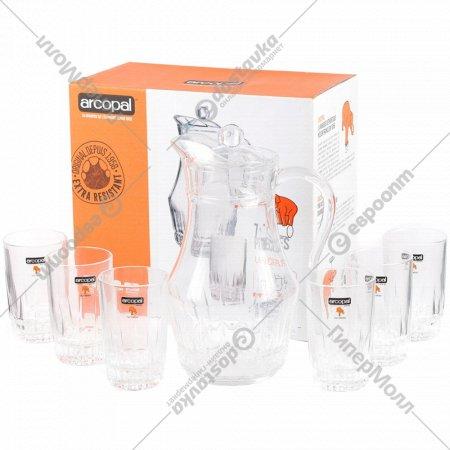 Набор для напитков «Arcopal» Lancier, 7 предметов