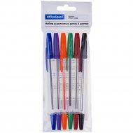 Набор шариковых ручек «OfficeSpace» 6 цветов, 1.0 мм, 6 шт