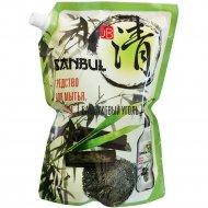 Средство для мытья посуды «Sanbul» бамбуковый уголь, 1.2 л.