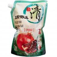 Средство для мытья посуды «Sanbul» гранат, 1.2 л.