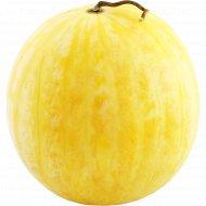 Арбуз «Подарок солнца» желтый, 1 кг, фасовка 1.7-3 кг