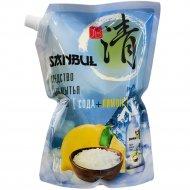 Средство для мытья посуды «Sanbul» сода+лимон, 1.2 л.