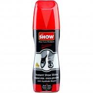 Жидкая крем-краска для обуви «Show» черная, с губкой, 75 мл.