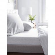 Комплект постельного белья «Samsara» Белый, полуторный, Сат150-1