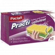 Губки для кухни «Paclan practi cellulose» 2 шт.