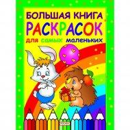 Книга «Большая книга раскрасок для самых маленьких».