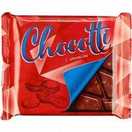 Плитка кондитерская «Chocotti» с арахисом, 80 г.