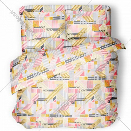 Комплект постельного белья «Samsara» Гео, полуторный, Сат150-15