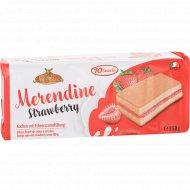 Пирожные бисквитные «Meister Moulin» с клубничной начинкой, 250 г