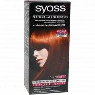 Крем-краска для волос «Syoss» насыщенный медный, 5-77.