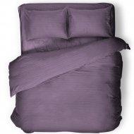 Комплект постельного белья «Samsara» Черника, двуспальный, Сат200-6