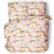 Комплект постельного белья «Samsara» Гео, двуспальный, Сат200-15