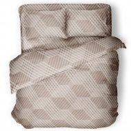 Комплект постельного белья «Samsara» Капучино, двуспальный, Сат200-16