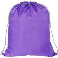 Мешок для обуви «ArtSpace» 1 отделение, фиолетовый, 340х420 мм