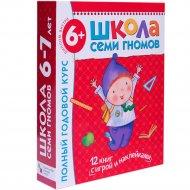 Книга «ШСГ 6-7 ЛЕТ» полный годовой курс.