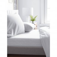 Комплект постельного белья «Samsara» Белый, Евро, Сат220-1