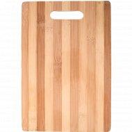Доска разделочная из бамбука, 30х20 см.