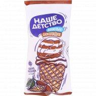 Мороженое двухслойное «Наше детство» ванилин, 8%, 85 г
