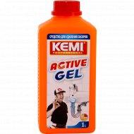 Средство для удаления засоров «Active Gel» 1000 мл.