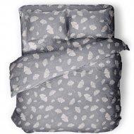 Комплект постельного белья «Samsara» Сильвери, Евро, Сат220-12