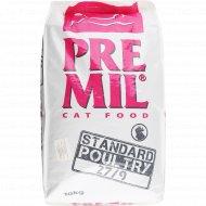 Корм для кошек «Premil» Standard Poultry Premium, 10 кг.