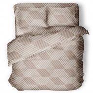 Комплект постельного белья «Samsara» Капучино, Евро, Сат220-16
